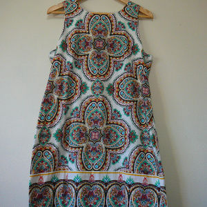 Maggy London Print Sleeveless Dress